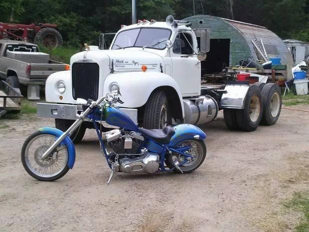 2005 BMC Chopper Motorcycle