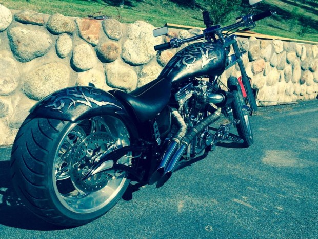 Big Bear Venom Chopper Motorcycle