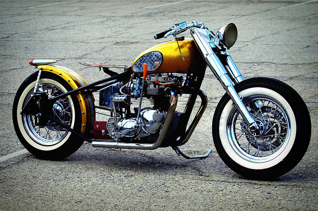 1969 triumph bobber | totally rad choppers