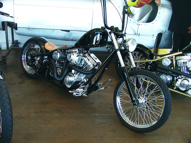 West Coast Choppers Bike