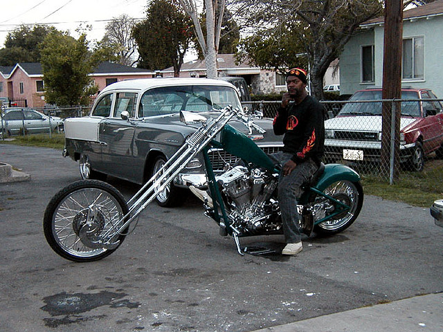 Teal Chopper
