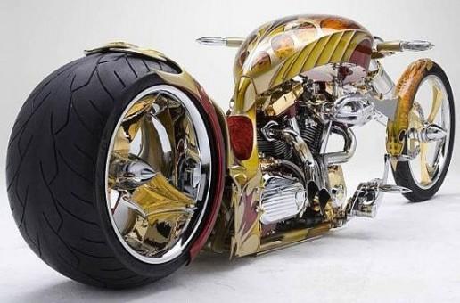 Gold Plated Chopper
