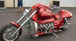 Smokin Red Viper Chopper