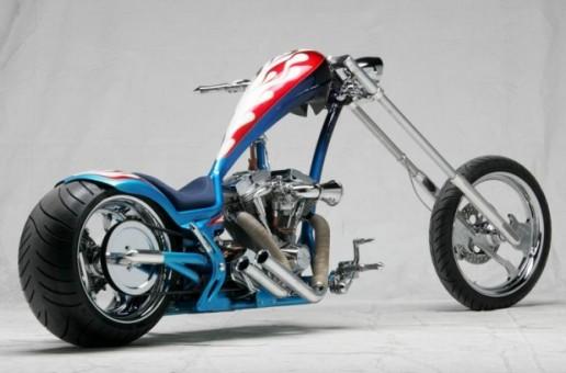 Slick Harley Davidson Chopper