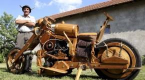 A Man Builds Dream Chopper