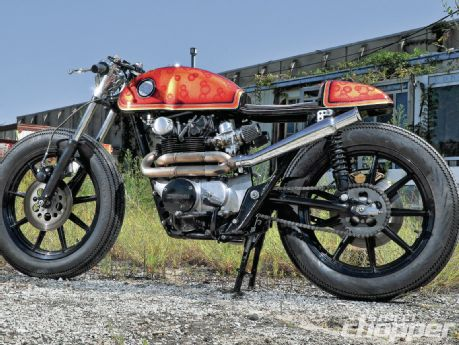 1973 Honda CB750 Cafe Custom