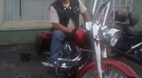 A Class Act Veteran On His Fatboy