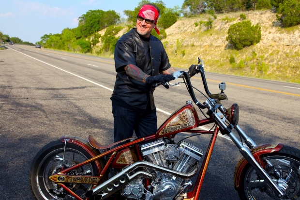 One Mean Chopper Building Machine  Totally Rad Choppers