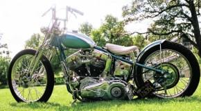 Classic 1955 Harley Davidson Panhead
