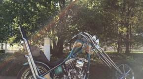 One Sweet Chopper Motorcycle