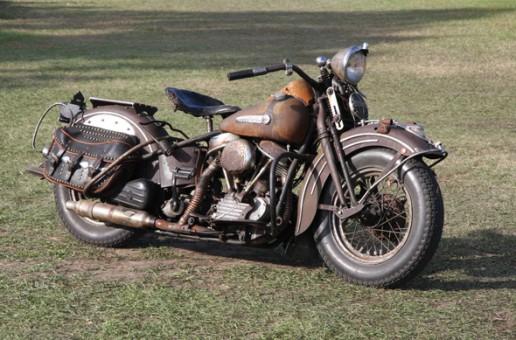 Vintage 1948 Harley-Davidson Panhead