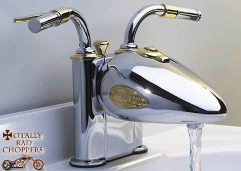 Chopper Motorcycle Faucet