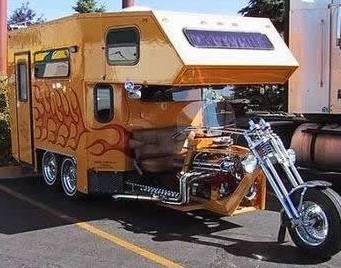 Trike Camper