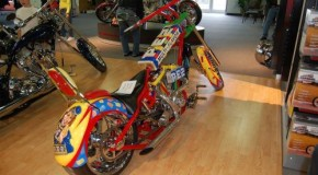 Pez Chopper Motorcycle