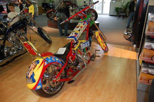 Pez Chopper Motorcycle