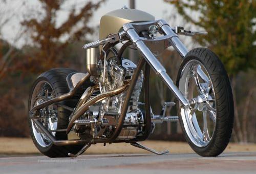 Creative Custom Built Chopper
