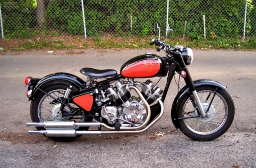 700cc Royal Enfield V-Twin