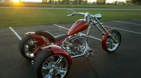 Custom Chopper Trike   Trikes