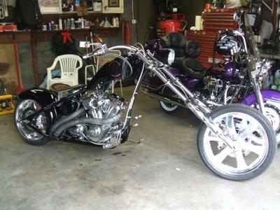 VON DUTCH KUSTOM CHOPPER MOTORCYCLE