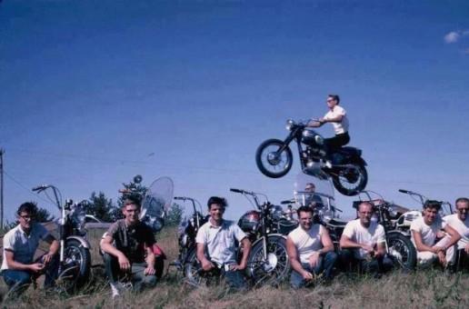 Triumph Photo Bomb   Motorbike