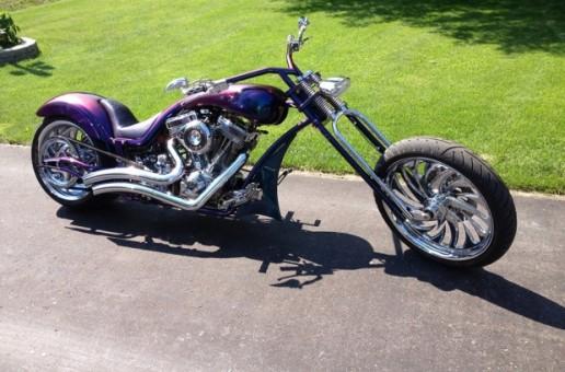 Marcel's Purple Sled   Best Motorcycles
