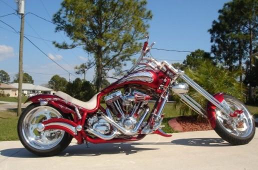 Bourget Custom Chopper | Riding Motorcycles