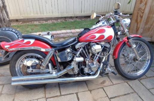 1980 Harley Davidson Shovelhead Chopper | Harley Chopper