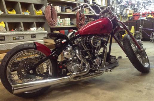 Solid Custom Chopper   Best Motorcycles
