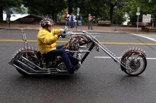 Spiked Chopper | Best Motorcycles