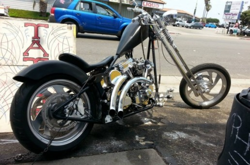 Springer   Custom Built Chopper Motorcycles