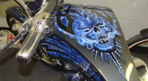 Awesome Tank Paint | Gas Tank