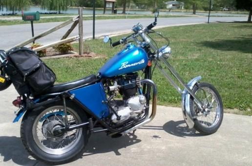 Mark's 71 Triumph Bonneville | Motorbike