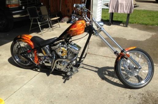Dave's Custom   Motorcycle