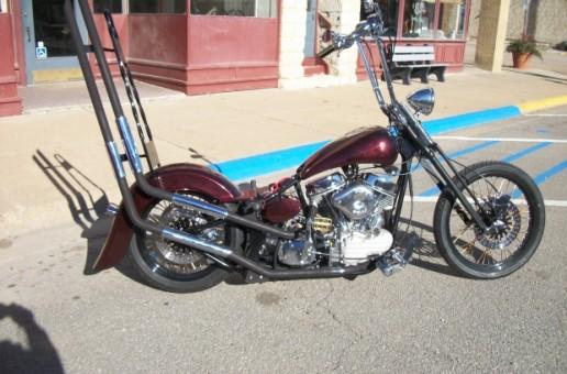 Custom Pan   Motorcycle