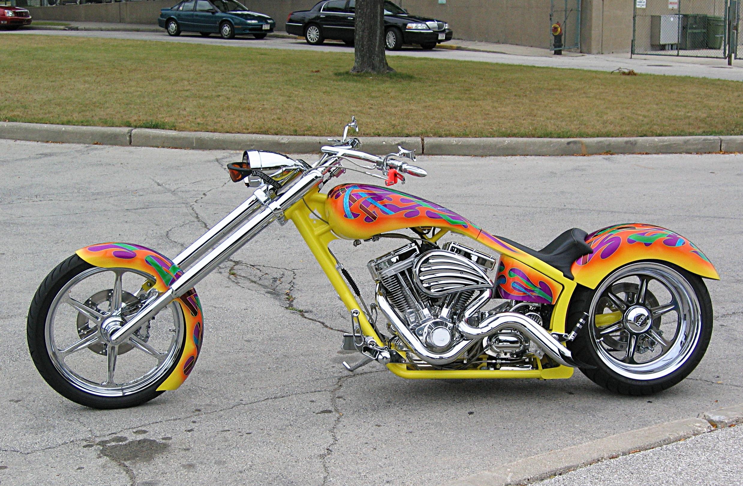 Color Burst Chopper
