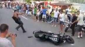 Tough Guy Motorcycle Fail