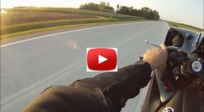 GoPro Fast 3/4 Mile Wheelie!