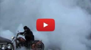 Chopper Burnout Tire Shred