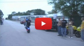 Chopper Wheelie and Burnout