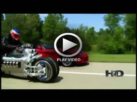 Dodge Tomahawk Chopper vs Dodge Viper