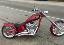 Hot Paint Combo | Chopper Motorcycle