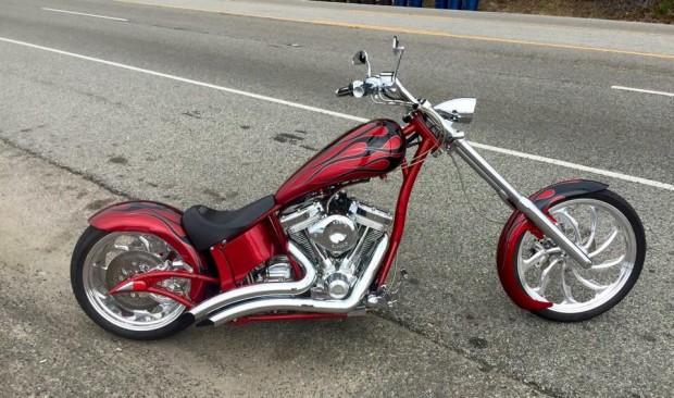 Hot Paint Combo | Chopper Motorcycle
