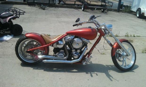 Eddie's Redneck Lowlife Chopper