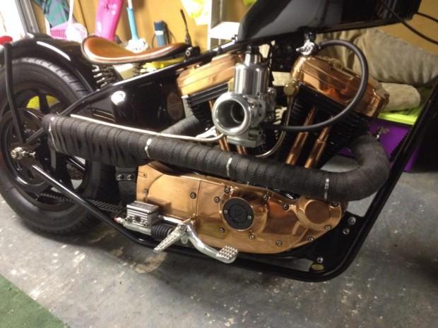 Ian's UK Chopper Motorcycle