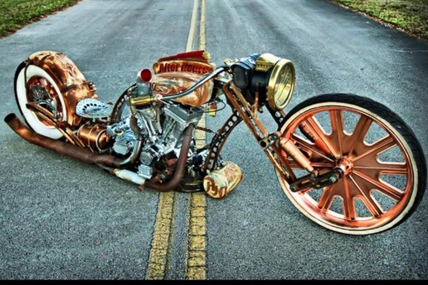 Rich's Flame Throwing Maui Rat Rod