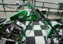 New York Jets Green Machine Chopper