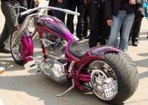Purple Custom Chopper