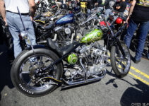 Green and Black Chopper