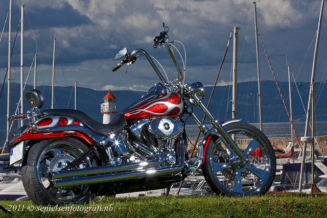 One Stunning Chopper