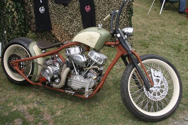 Cool Homemade Bike. - Choppers